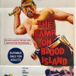 the camp on blood island australian daybill poster 1958