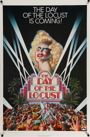 the day of the locust US one sheet poster rolled