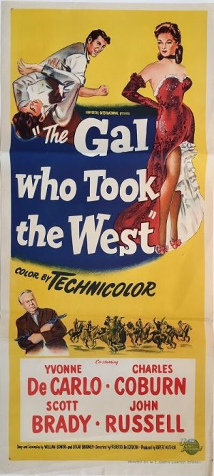 the gal who took the west australian daybill poster 1949