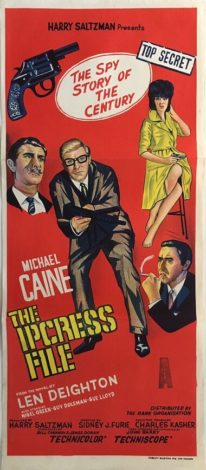 the ipcress file australian daybill poster 1 michael caine