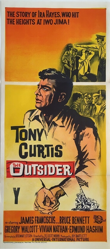 the outsider australian daybill poster 1962