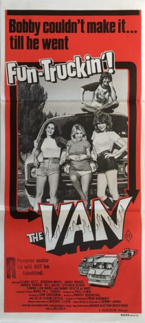 the van australian daybill poster 1979