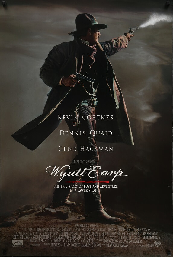 wyatt earp advance us one sheet poster 1994