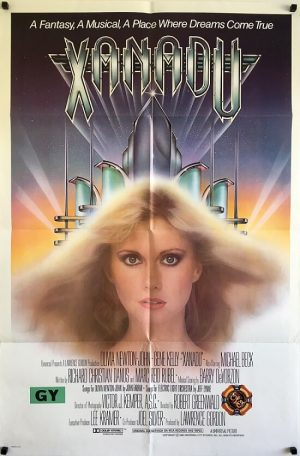 xanadu us one sheet poster 1980 olivia newton john