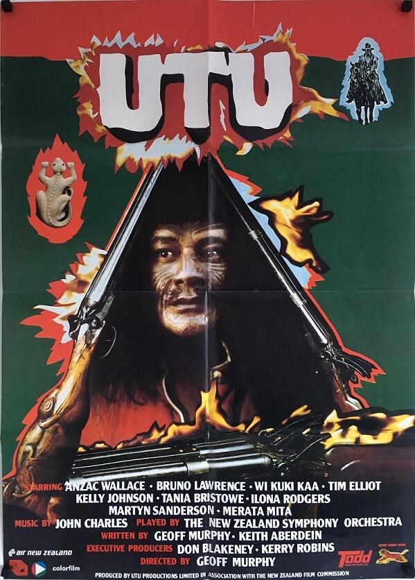 UTU new zealand one sheet poster 1984