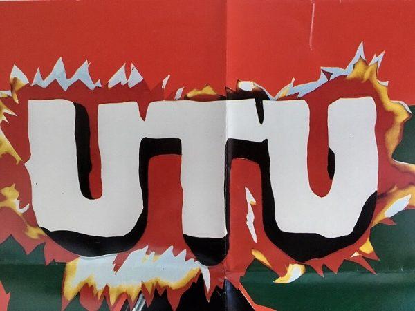 UTU new zealand one sheet poster title 1984
