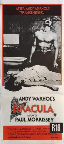 ndy warhols dracula australian daybill poster paul morrissey 1