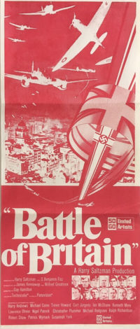 battle of britain new zealand daybill poster