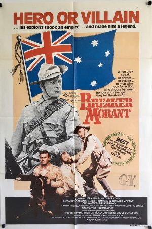 breaker morant australian one sheet poster 1980