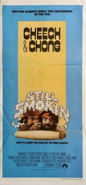 cheech and chong still smokin australian daybill poster