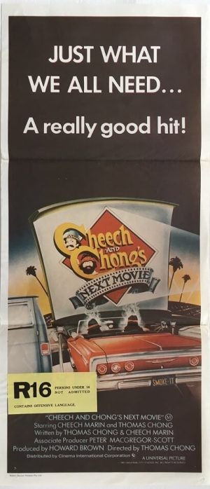 cheech and chongs next movie australian daybill poster original release
