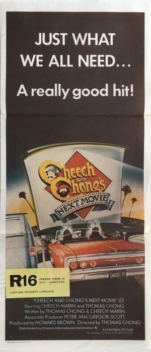 cheech and chongs next movie australian daybill poster original release