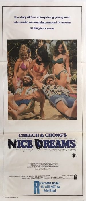 cheech and chongs nice dreams australian daybill poster