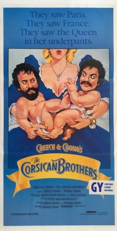 cheech and chongs the corsican brothers australian daybill