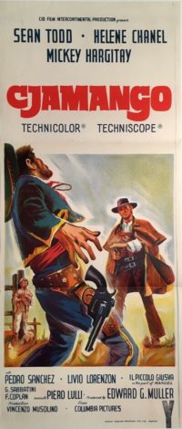 cjamango australian daybill poster western sean todd