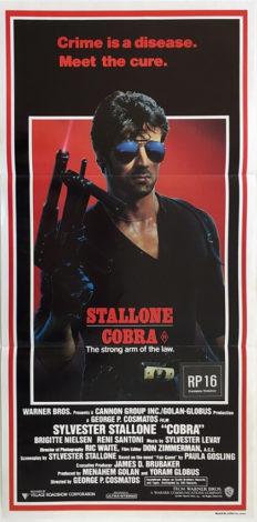 cobra australian daybill poster 1986