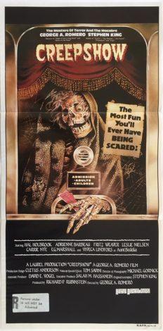 creepshow australian daybill poster 1982