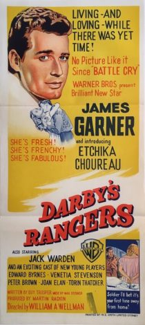 darbys rangers australian daybill war movie poster james garner