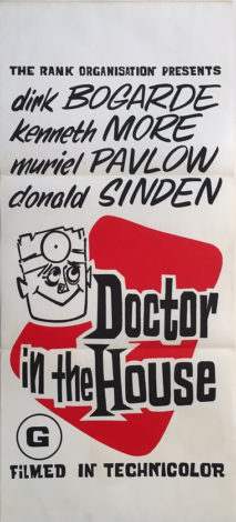 doctor in the house new zealand daybill poster dirk bogarde