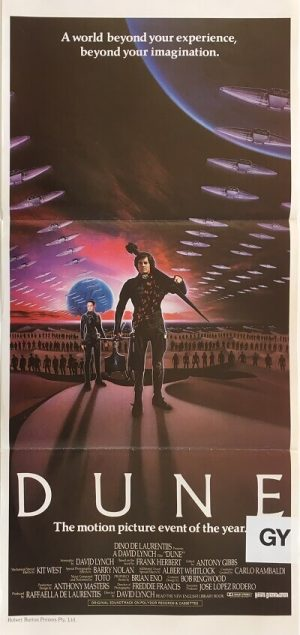 dune australian daybill poster 1984 david lynch