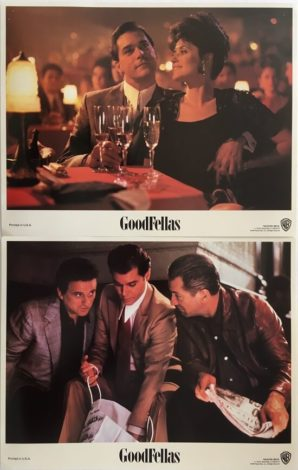 goodfellas lobby card set robert de niro 1
