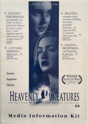 heavenly creatures new zealand press book 1994