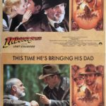 indiana jones and the last crusade lobby card set 1989 harrison ford sean connery 3