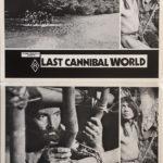 last cannibal world lobby card set frank zeccola 1