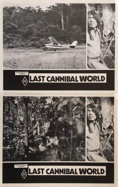 last cannibal world lobby card set frank zeccola 3