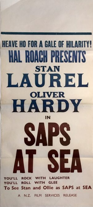 laurel and hardy saps at sea nz daybill 1940
