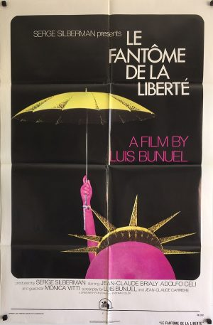 le fantome de le liberte the phantom of liberty us one sheet poster 1974