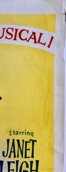 my sister eileen australian daybill poster jack lemmon janet leigh 2