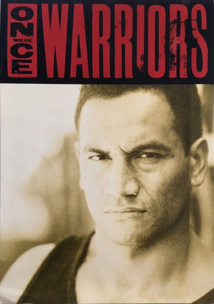 once were warriors new zealand info book front 1994
