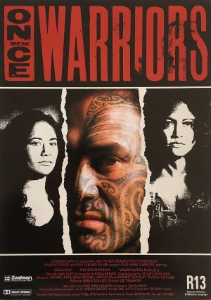 once were warriors new zealand info sheet front 1994