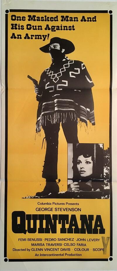 quintana australian daybill poster western george stevenson femi benussi