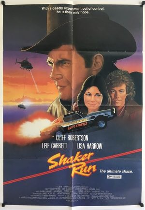 shaker run new zealand one sheet poster 1985