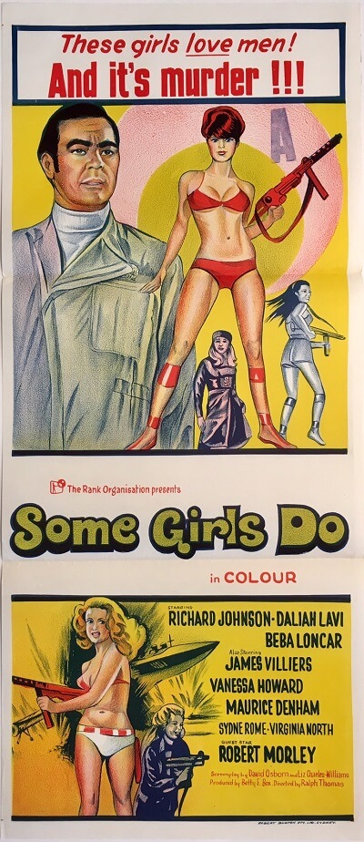 some girls do australian daybill poster 1969