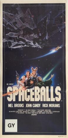 spaceballs australian daybill poster 1987