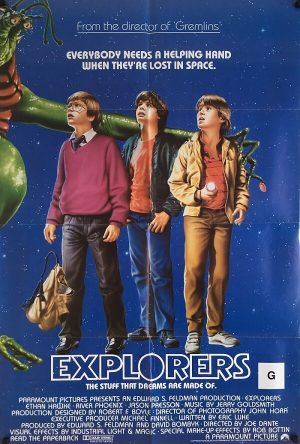 the explorers us one sheet poster paper loss