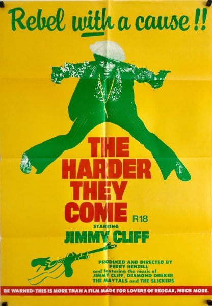 the harder they come australian one sheet poster 1972 jimmy cliff