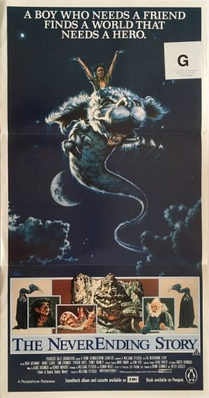 the neverending story australian daybill poster