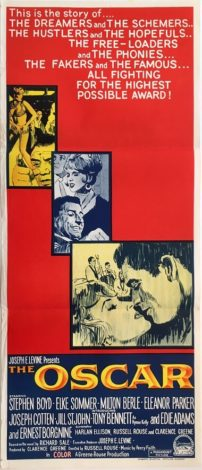the oscar austrailan daybill poster stephen boyd tony bennett ernest borgnine 1966