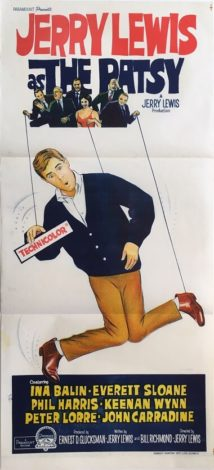 the patsy australian daybill poster jerry lewis