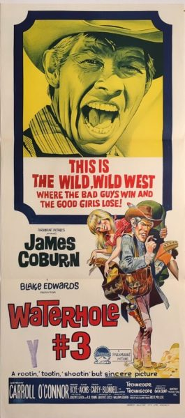 waterhole #3 australian daybill poster western james coburn