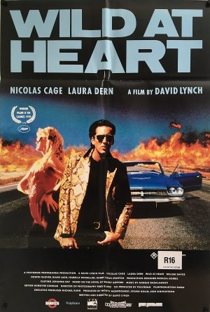 wild at heart australian one sheet poster david lynch 1990
