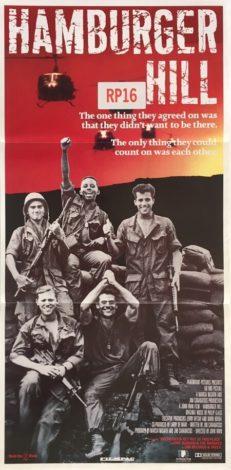 hamburger hill australian daybill poster vietnam war 1