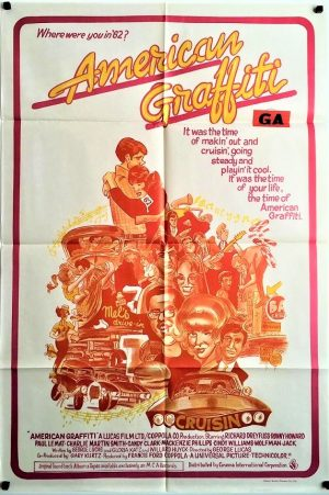 American Graffiti Australian One Sheet poster 1