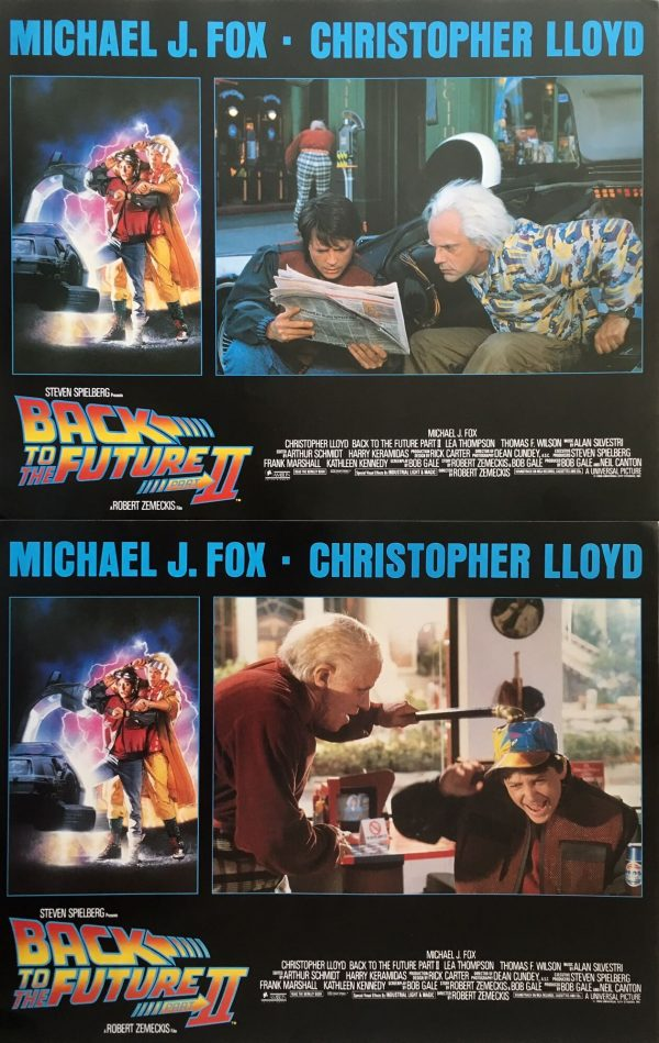 Back To The Future 2 Lobby Card Set 1 (3)