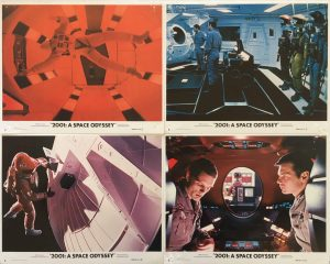"2001: A Space Odyssey 1968 Original Mini Lobby Cards 8"" x 10"" Qty x 8"