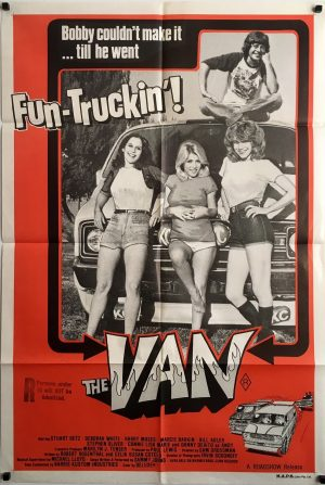 The Van 1979 Australian One Sheet Movie Poster